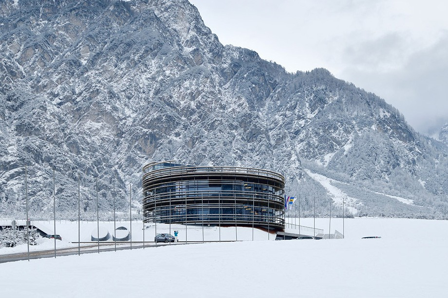 Architectural office STVAR |  Nordic centre Planica - Wind tunnel