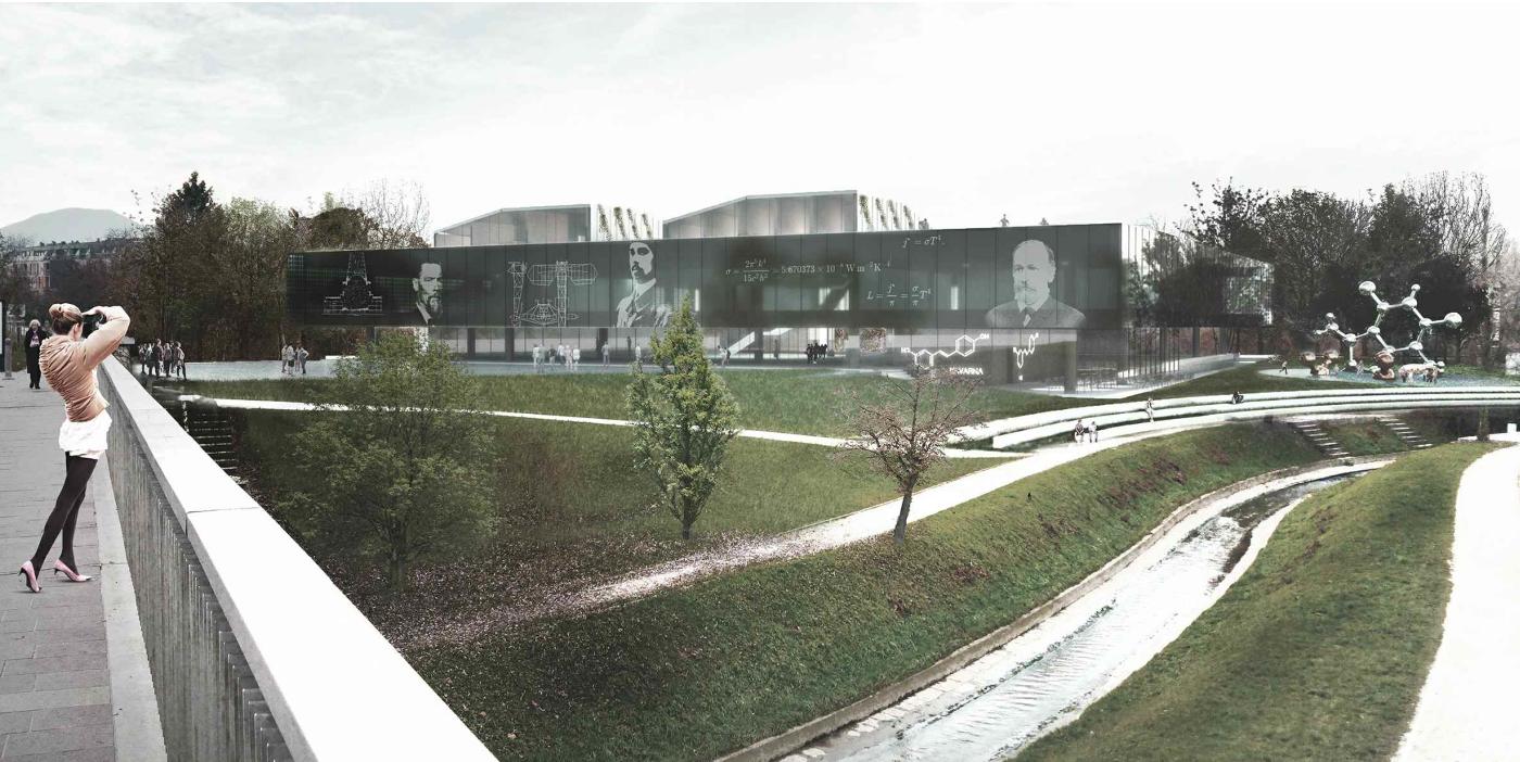 Arhitekturni biro STVAR   Center znanosti