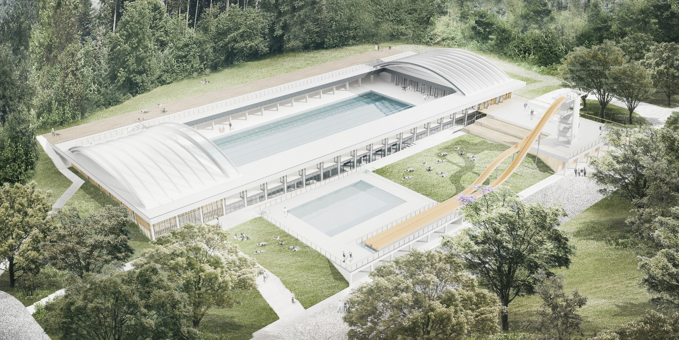 Architectural office STVAR | Olympic Swimming Resort Obla Gorica