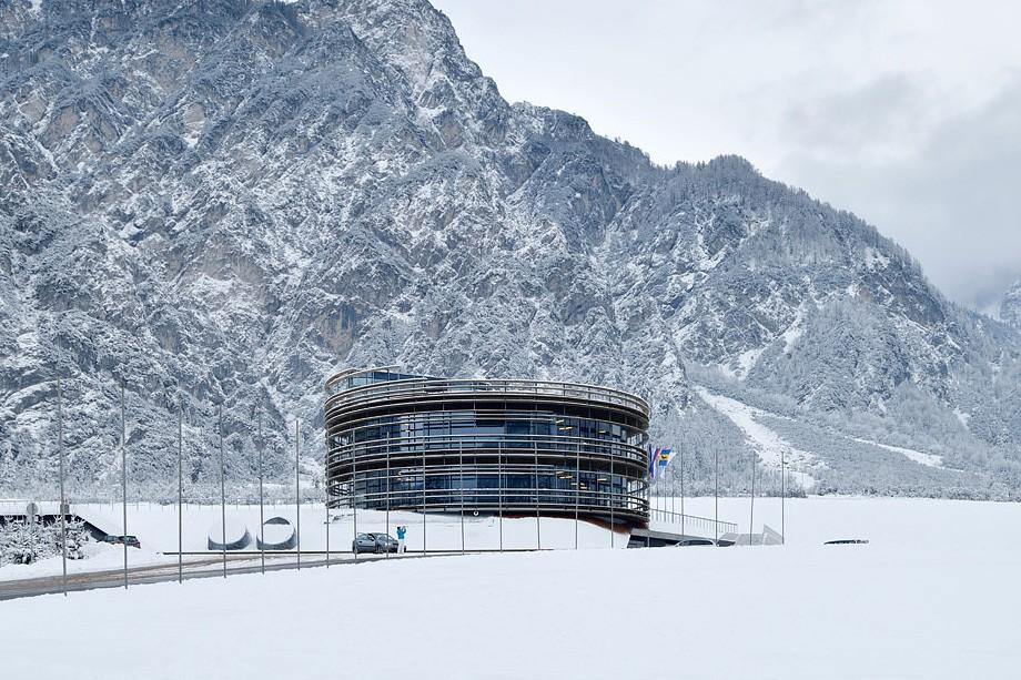 Arhitekturni biro STVAR | NC Planica - vetrovnik