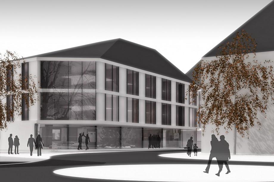 Arhitekturni biro STVAR | Poslovno stanovanjski kompleks Radovljica