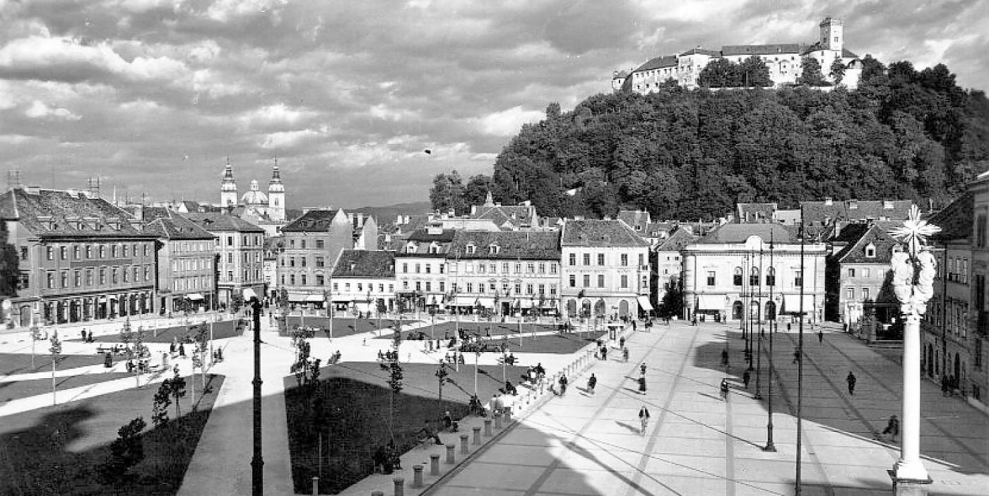 Arhitekturni biro STVAR | Kongresni trg in park Zvezda v Ljubljani